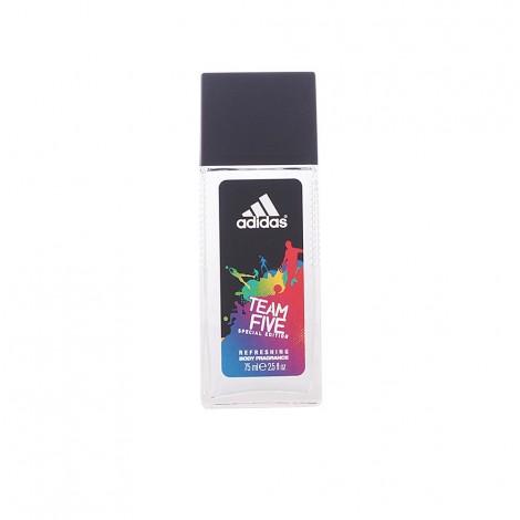 Adidas - TEAM FIVE fragancia corporal vaporizador 75 ml