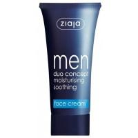 Ziaja - Crema Hidratante para Hombre con Propiedades Calmantes y Matificantes