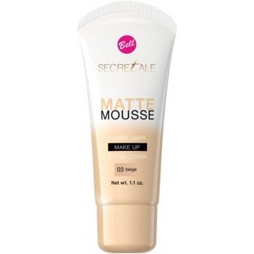 Bell - Base de maquillaje Secretale Matte Mousse - 03: Beige
