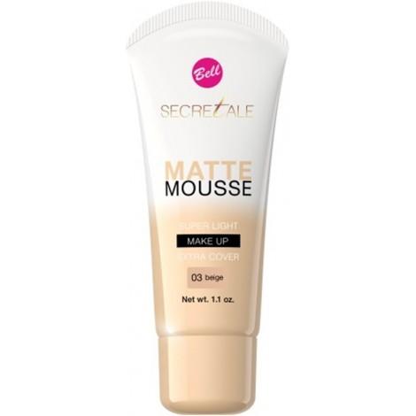 Bell - Secretale - Base de maquillaje Matte Mousse - 03: Beige