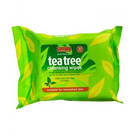 Beauty Formulas - Toallitas limpiadoras - Tea Tree