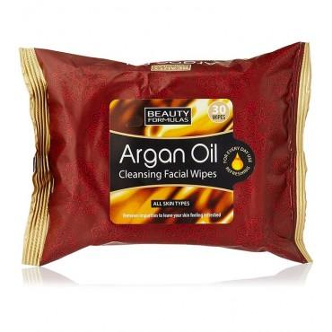 Beauty Formulas - Toallitas limpiadoras - Aceite de Argán