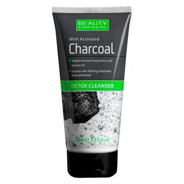 Beauty Formulas - Limpiador Desintoxicante con Carbón activado