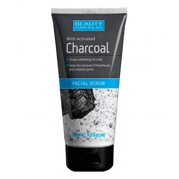 Beauty Formulas - Exfoliante Facial con Carbón activado