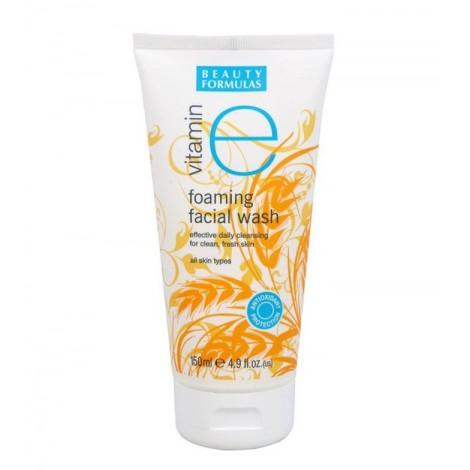 Beauty Formulas - Gel facial espumoso con Vitamina E