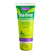 Beauty Formulas - Arbol del te - Mascarilla Limpieza Facial Profunda - 100ml