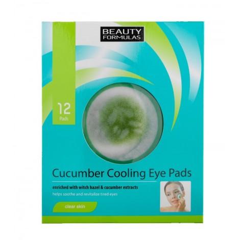 Beauty Formulas - Disco refrescantes de pepino para Ojos