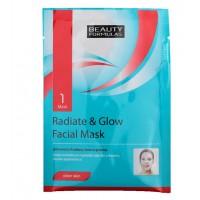 Beauty Formulas - Mascarilla Facial Aclaradora Radiate & Glow
