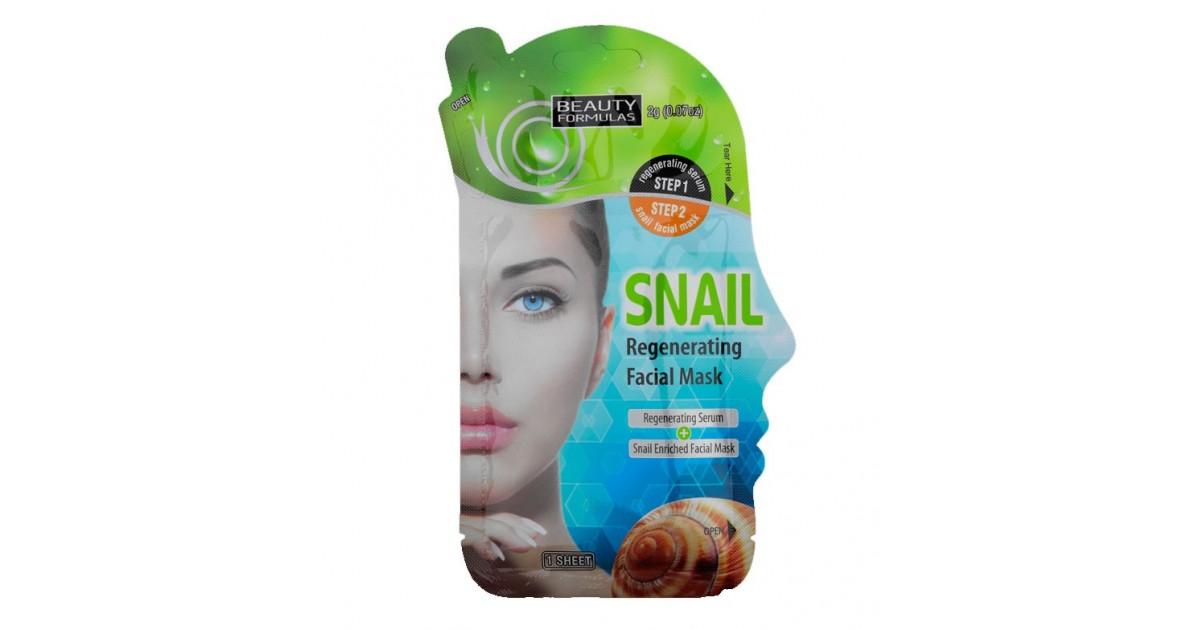 Beauty Formulas - Mascarilla Facial regeneradora - Caracol