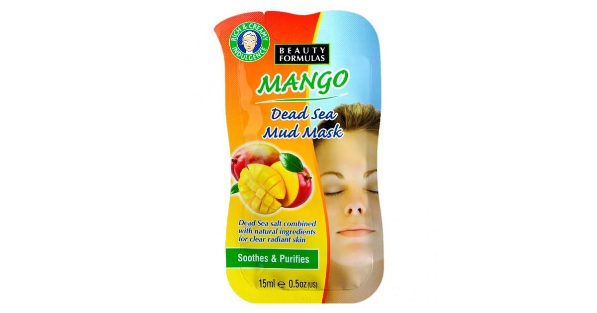 Beauty Formulas - Mascarilla de Mango y del Mar Muerto