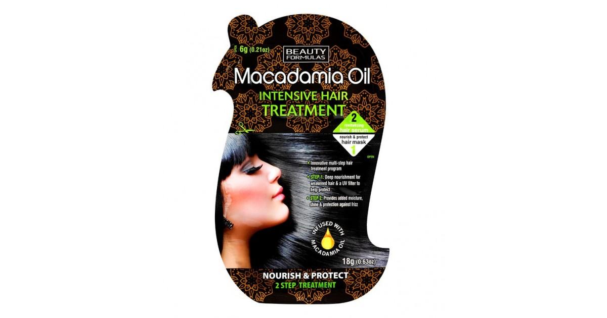 Beauty Formulas - Tratamiento Intensivo para el pelo - Macadamia Oil
