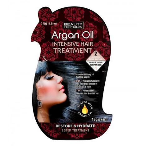 Beauty Formulas - Tratamiento Intensivo para el pelo - Argan Oil