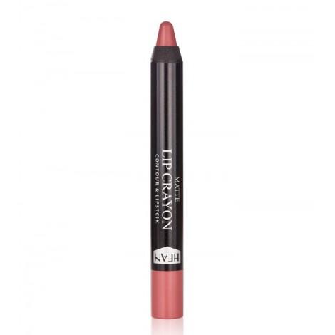 Hean - Barra de labios mate en lápiz Matte Lip Crayon - 03: Romance