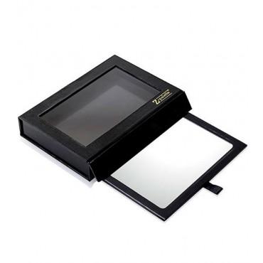 Zpalette - Paleta customizable vacía tamaño mediano con espejo - Negro