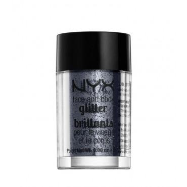 NYX Professional Makeup - Face & Body Glitter - GLI12: Gunmetal