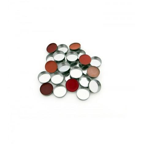 Zpalette - Contenedores metálicos vacíos redondos (pans) 18mm - 20uds