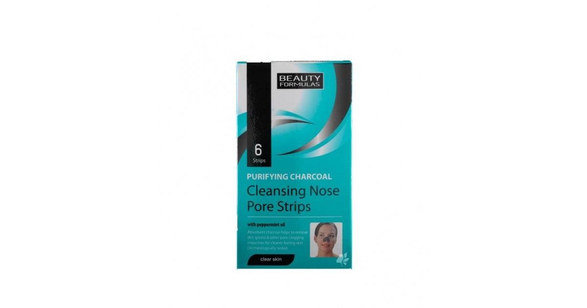 Beauty Formulas - Bandas limpiadoras nasales de carbón