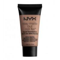 NYX - Base de maquillaje fluida Stay Matte But Not Flat - SMF18.5: Deep Olive