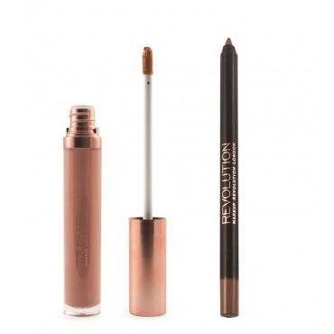 Makeup Revolution - Gloss Lip Kit Retro Luxe - Original