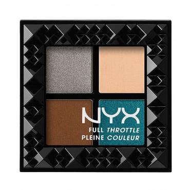 NYX - Paleta de Sombra de ojos Full Throttle - 06: Stunner