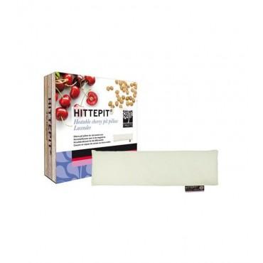 Treets - Hittepit Cojín rectangular térmico de semillas de cereza y lavanda