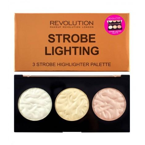 Makeup Revolution - Paleta de iluminadores Strobe Lighting