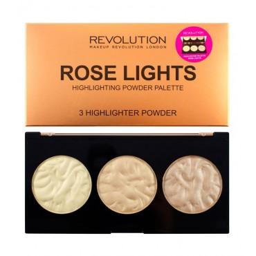 Makeup Revolution - Paleta de iluminadores Rose Lights