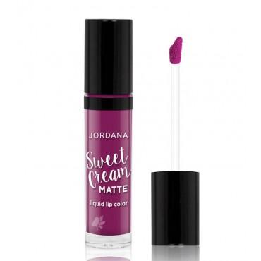 Jordana - Labial Líquido Mate Sweet Cream - 26: Currant jam