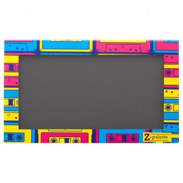 ZPALETTE - Paleta customizable vacía tamaño grande - Old School Cassette