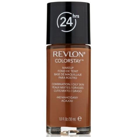 Revlon - Base de Maquillaje fluida ColorStay para piel Mixta/Grasa - 440 Mahogany