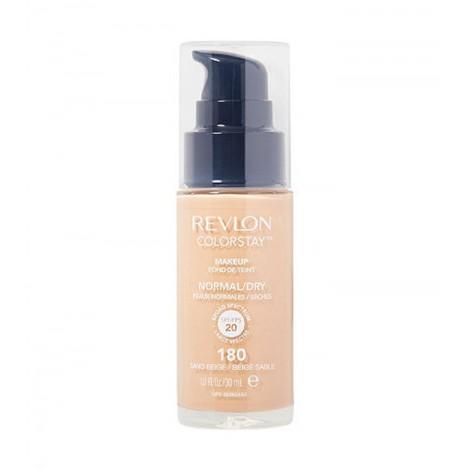 Revlon - Base de Maquillaje fluida ColorStay para piel Normal/Seca - 180: Sand Beige