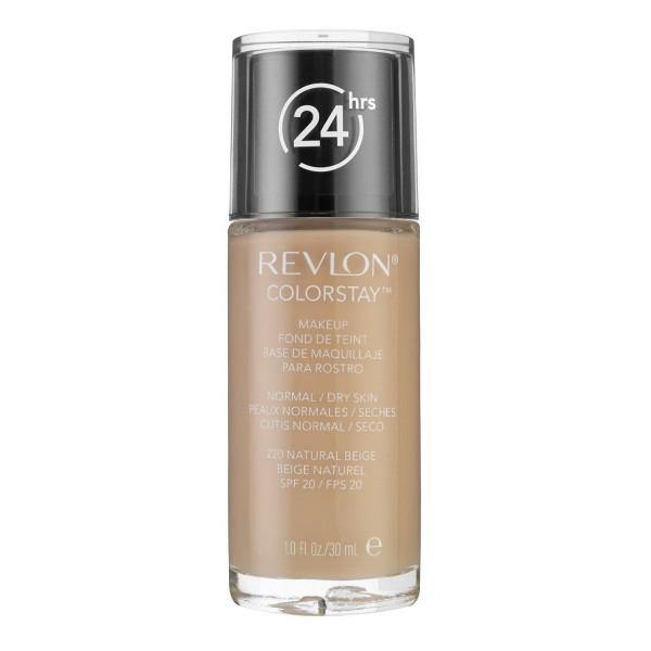 1006f9d0e Revlon - Base de Maquillaje fluida ColorStay para piel Normal/Seca - 220  Natural Beige