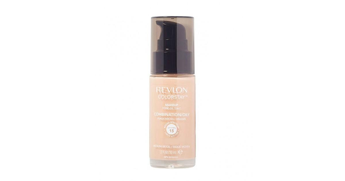 Revlon - Base de Maquillaje fluida ColorStay para piel Mixta/Grasa SPF15- 110 Ivory