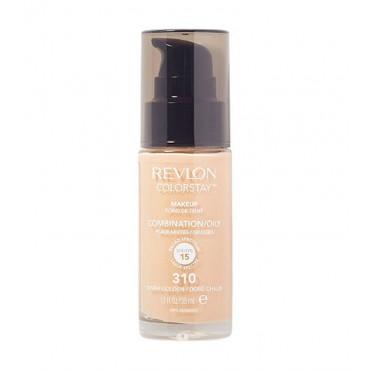 Revlon - Base de Maquillaje fluida ColorStay para piel Mixta/Grasa SPF15 - 310: Warm Golden