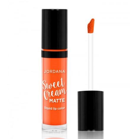 Jordana - Labial Líquido Mate Sweet Cream Ed. Halloween - 15: Twisted Tangerine