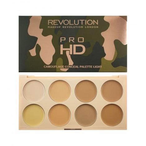 Makeup Revolution - Paleta de Correctores Ultra Pro HD Camouflage - Light