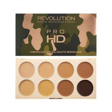 Makeup Revolution - Paleta de Correctores Ultra Pro HD Camouflage - Medium Dark