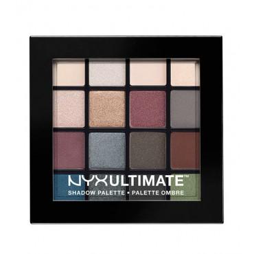 NYX Professional Makeup - Paleta de sombras Ultimate - USP01: Smokey & Highlight