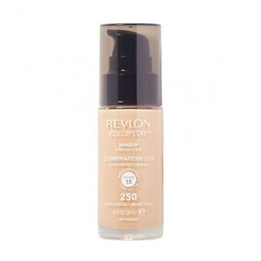 Revlon - Base de Maquillaje fluida ColorStay para piel Mixta/Grasa SPF15 - 250: Fresh Beige