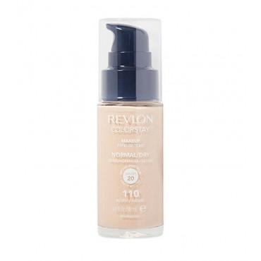 Revlon - Base de Maquillaje fluida ColorStay para piel Normal/Seca SPF15 - 110: Ivory