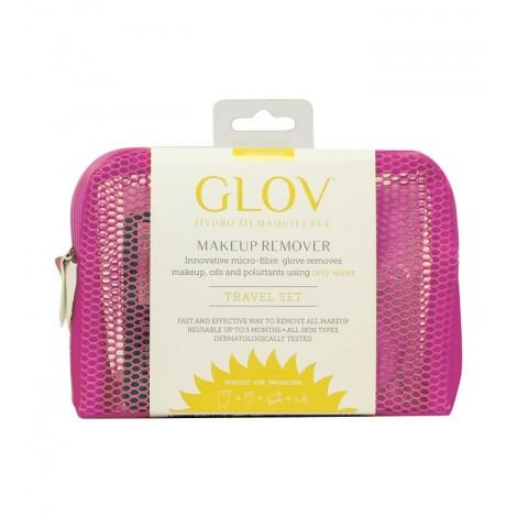 GLOV - Guante desmaquillador Travel Set Innovation - Cozy Rosie