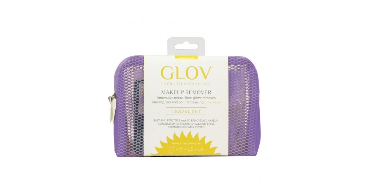 GLOV - Guante desmaquillador Travel Set Innovation - Vey Berry