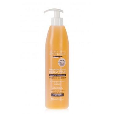 Byphasse - Shampoo Queratina liquida cabellos secos 520ml