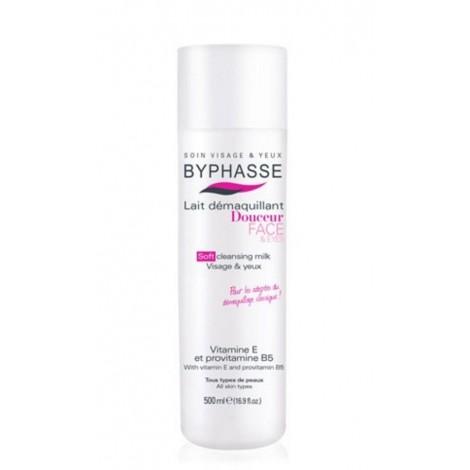 Byphasse - Leche desmaquillante botella sin dosificador 500ml