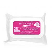 Byphasse - Toallitas desmaquillantes Solucion Micelar x 25
