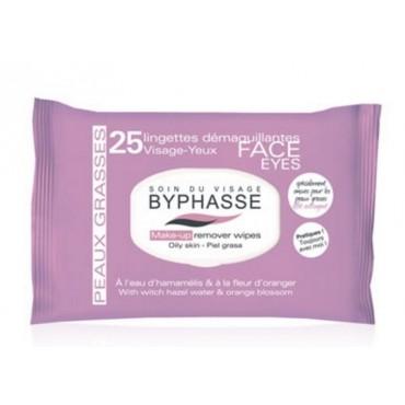 Byphasse - Toallitas desmaquillantes Piel grasa x 25