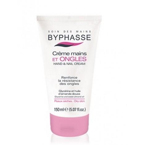 Byphasse - Crema de manos y u–ñas aceite de almendra dulce 150ml