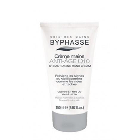 Byphasse - Crema de manos Q10+Vit E+UV 150ml