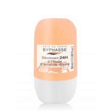 Byphasse - Desodorante Roll-on 24hrs Almendra 50ml