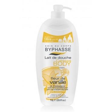 Byphasse - Crema de Ducha Flor de Vainilla 1Lt